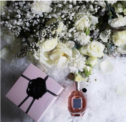 Viktor&Rolf Flowerbomb Influencer Campaign